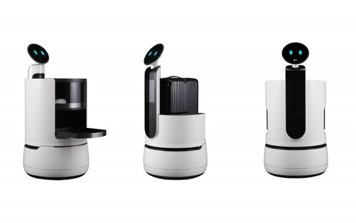 LG's new CLOi robots will serve you at shops in the future