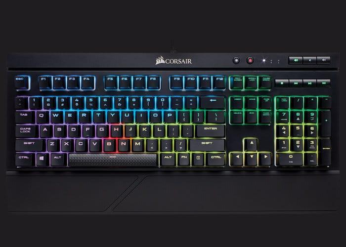 Corsair K68 RGB Water-Resistant Mechanical Gaming Keyboard