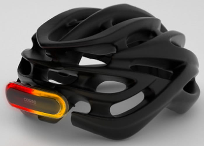 Cosmo Cyclist Smart Brake Light Alerts Family If You Have An Accident