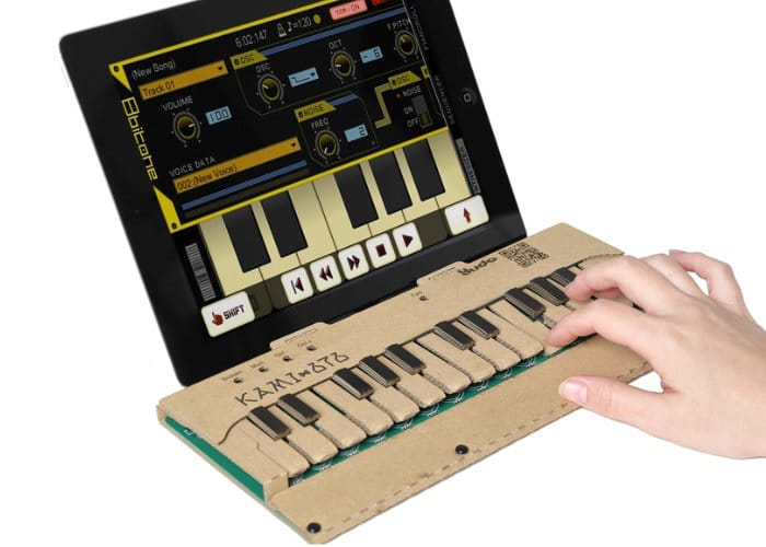 DIY Cardboard Musical Keyboard Kit
