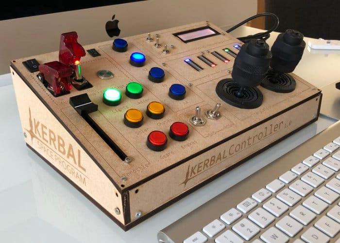DIY Kerbal Space Program Cockpit Created Using Arduino