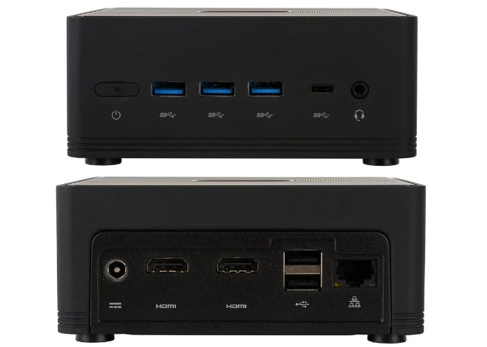 ECS Liva Z2 Fanless Mini PC