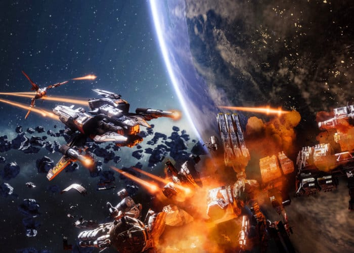 End Space VR Space Combat Game