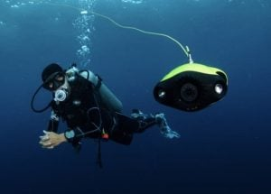FIFISHP3 Underwater Drone & True UHD 4K Video System – Available Now on Indiegogo