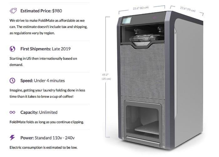 FoldiMate Folds Your Laundry Automatically-1