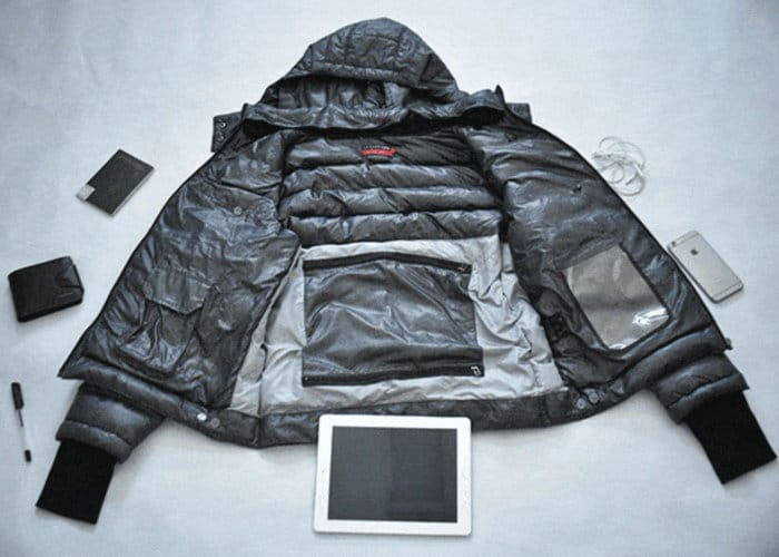 GIGA Gadget Jacket Holds All Your Devices And More