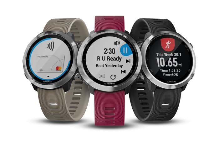Garmin's first smartwatch that can store music is the Forerunner 645