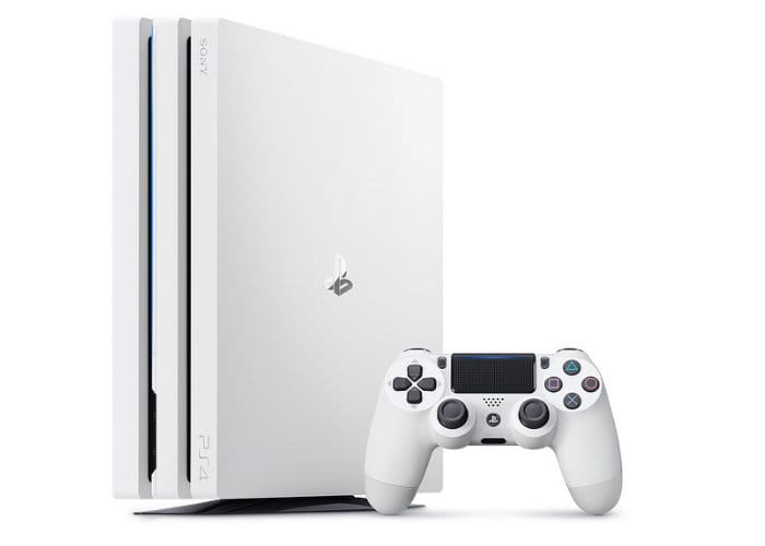 PlayStation 4 Pro Monster Hunter World And Glacier White Bundles