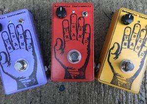 Hand Fuzz Guitar Effect Pedals Hit Kickstarter