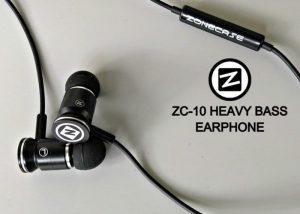 ZoneCase ZC-10 Heavy Bass Earphones Hit Kickstarter