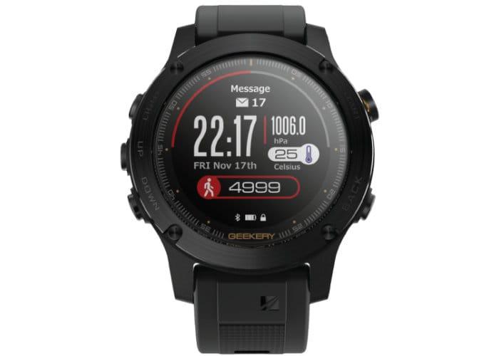 IronCloud GPS Smartwatch