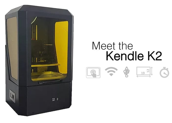 Kendle Large Format K2 SLA 3D Printer