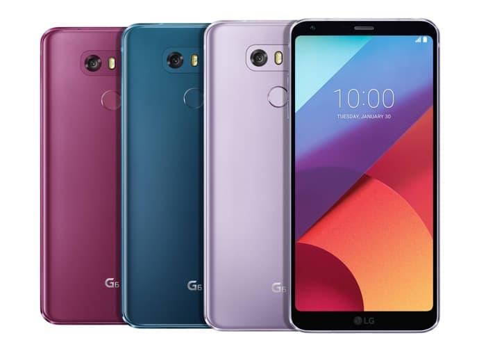 LG G6 LG Q6
