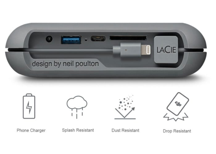 LaCie 2TB DJI Copilot External Storage