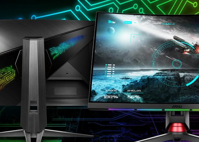MSI OPTIX MPG27CQ Curved Gaming Monitor