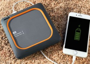 WD My Passport Wireless Portable SSD Storage And Battery Pack