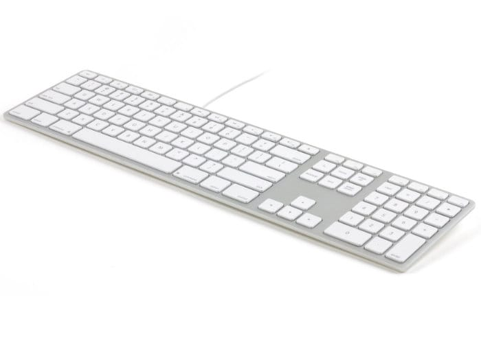 matias wired backlit mac keyboards now available for  99
