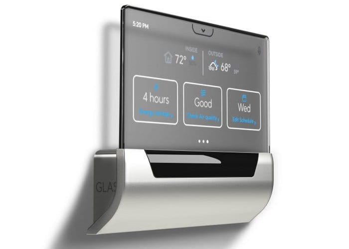 Microsoft GLAS Smart Thermostat With Cortana