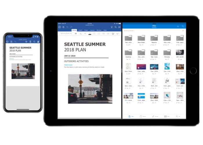 Microsoft OneDrive Receives iOS Files Support