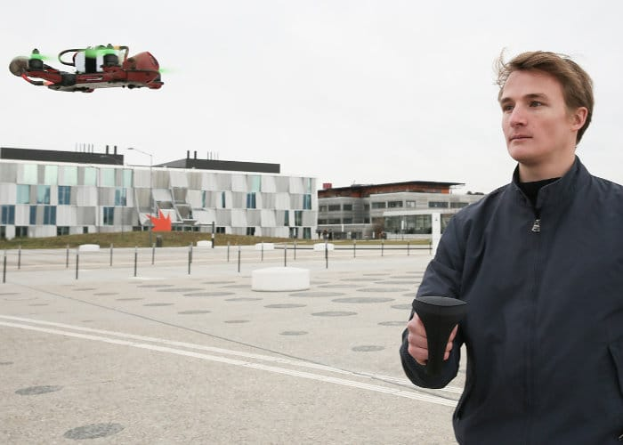 MotionPilot Haptic Drone Joystick
