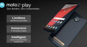 New Motorola Moto Z3 And Z3 Play Leaked