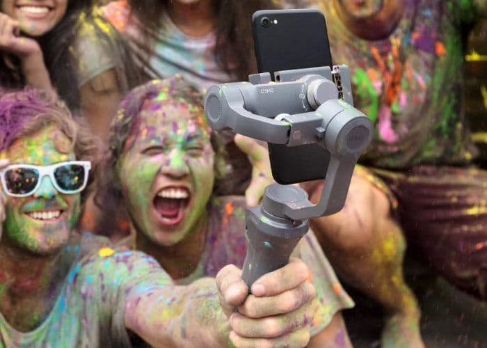 DJI targets smartphone shooters and professionals with new camera stabilizers