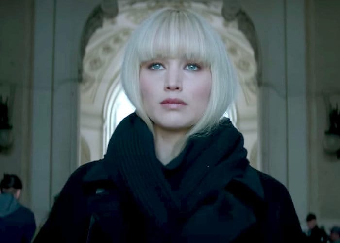 Watch a TV spot for spy thriller Red Sparrow starring Jennifer Lawrence