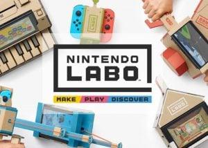 Nintendo Labo Nintendo Switch Cardboard Toys Introduced