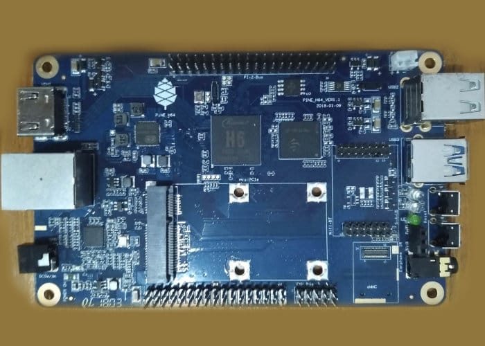 Pine H64 Single-Board Mini PC