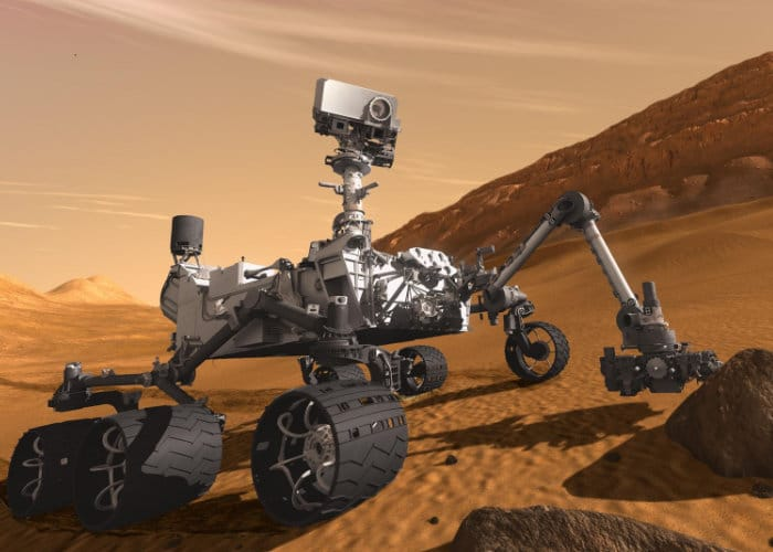 Planet Mars Panorama Captured By Curiosity Rover