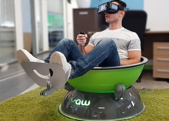 Portable Virtual Reality Motion Simulator