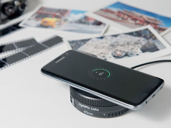 Power Lens Qi Charging Pad