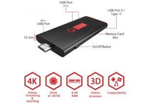 Q-Stick PC Stick Computer Offers 4K Streaming And More