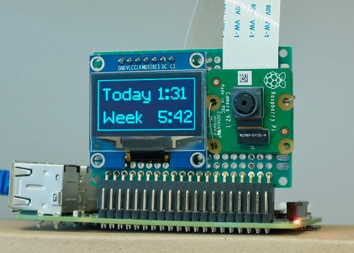 Raspberry Pi based facial recognition punch clock