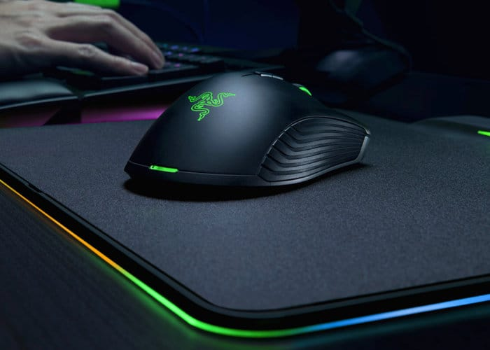 Razer Hyperflux Gaming Mouse Is Wireless Charged By Its Mousemat