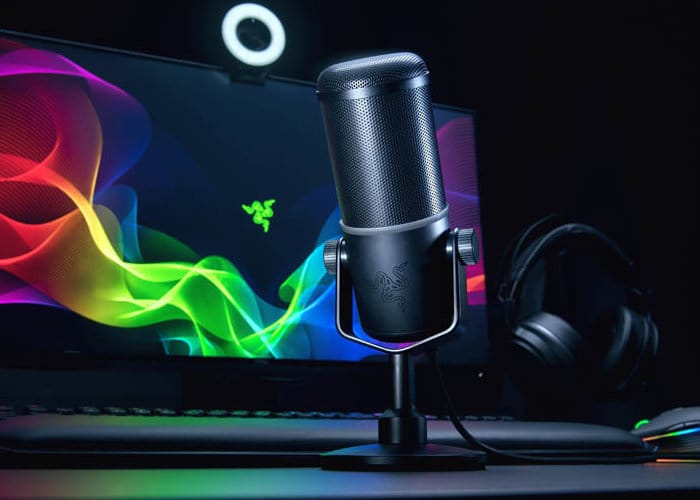 Razer Seiren Elite Microphone Designed for Streamers