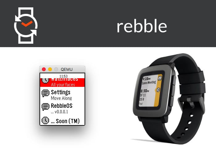 RebbleOS Hopes To Keep Your Pebble Smartwatch Alive