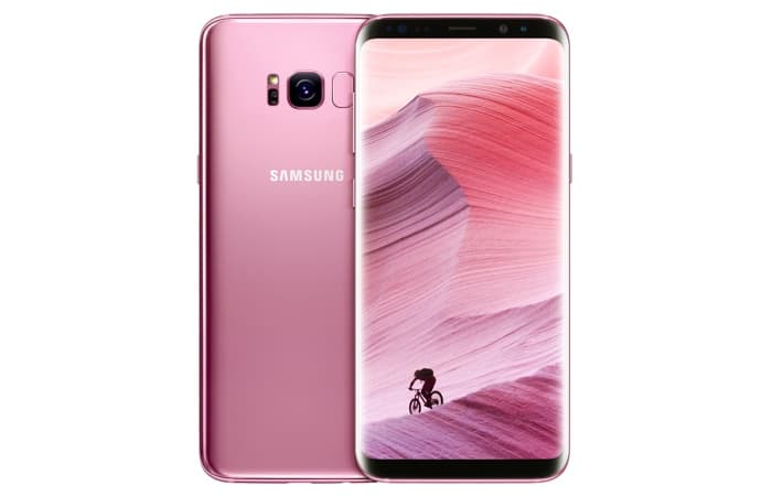 Rose Pink Samsung Galaxy S8 And S8 Plus