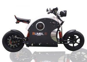 Unique Rumble Electric Bike Offers A Range Of 60 Miles