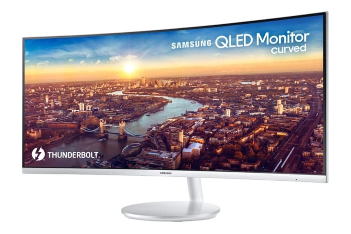 Samsung 34 Inch QLED Thunderbolt 3 Monitor