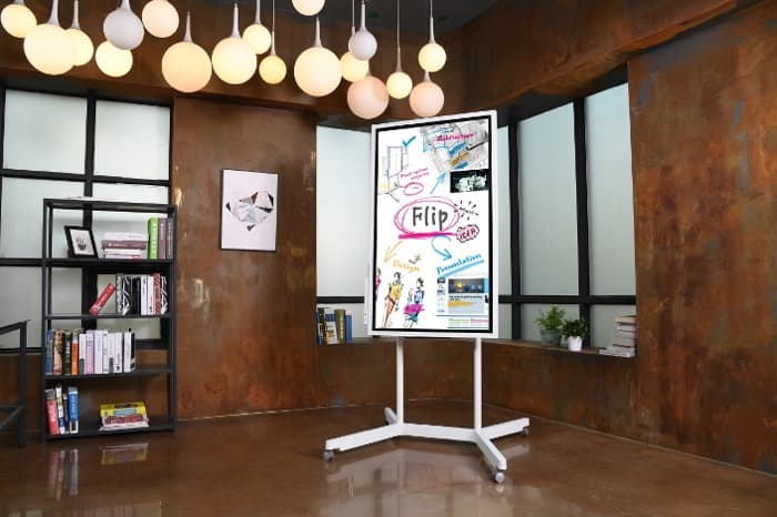 Samsung Introduces a Giant Digital Whiteboard
