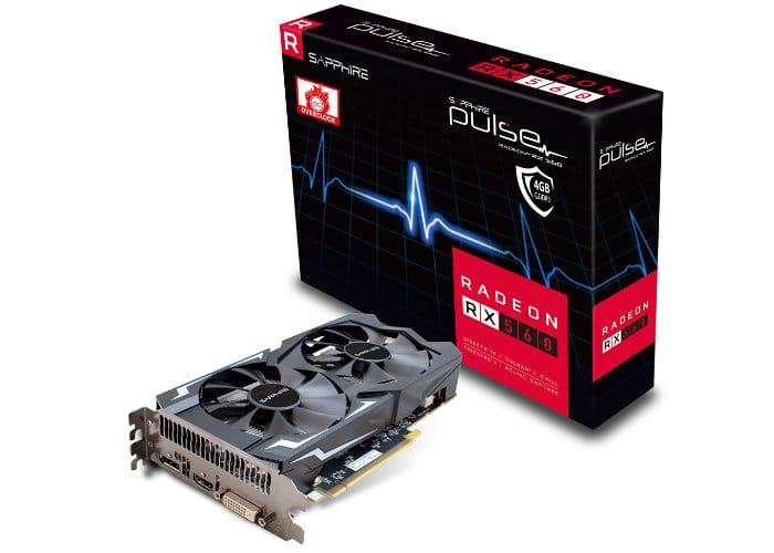 Sapphire Pulse Radeon RX 560 LITE