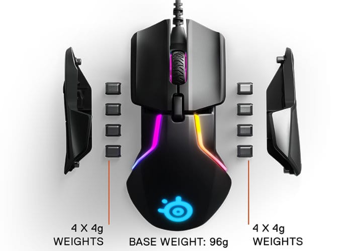 SteelSeries Rival 600 Gaming Mouse