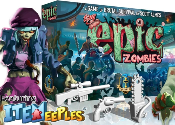 Tiny Epic Zombies Survival Board Game