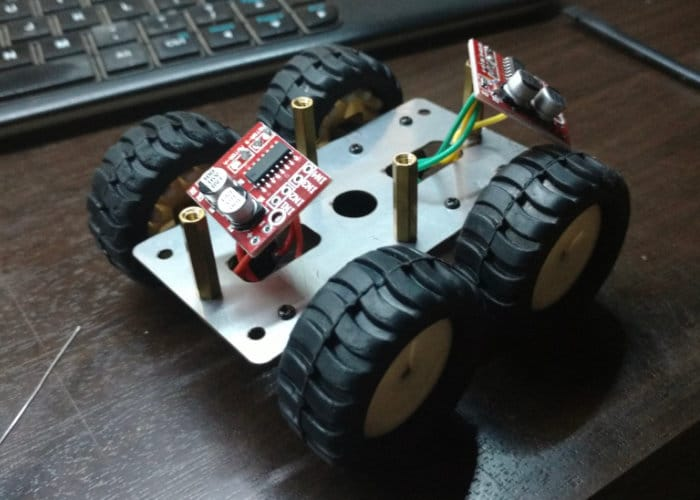 Tiny Raspberry Pi Powered RC Truck-2