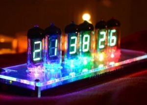 Unique IV-11 VFD Tube Digital Clock Kit