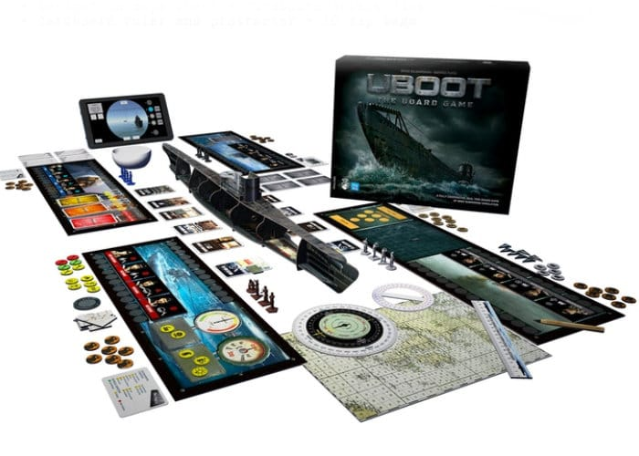Unique UBoot App Powered Board Game