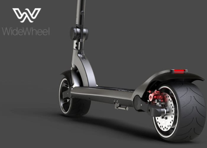 widewheel kickboard electric scooter available from 298. Black Bedroom Furniture Sets. Home Design Ideas