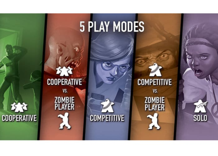 Zombies Survival Board Game