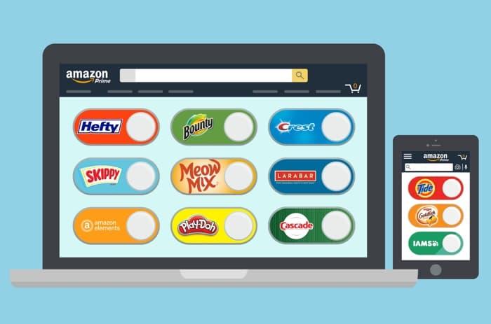 Amazon Virtual Dash Buttons